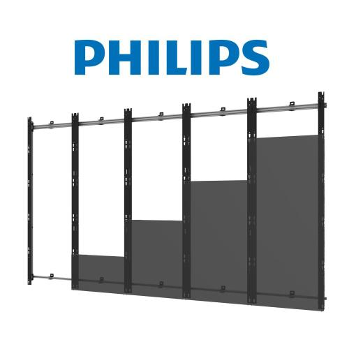 SEAMLESS Kitted Series Flat dvLED Mounting System for Philips 27BDL Series Direct View LED Displays