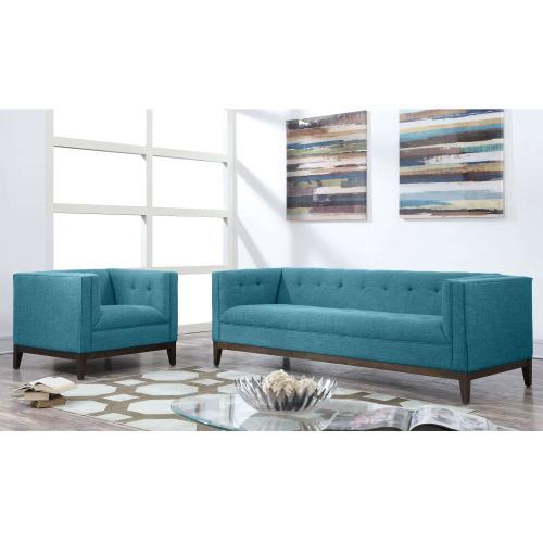 Tov Furniture - Gavin Blue Linen Sofa