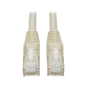 Cat6 Gigabit Snagless Molded (UTP) Ethernet Cable (RJ45 M/M), White, 14 ft.