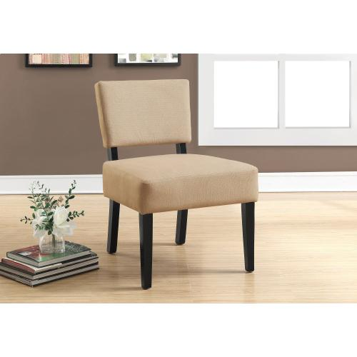 Gallery - ACCENT CHAIR - BEIGE FABRIC