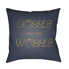 "Gobble Till You Wobble GOBBLE-003 20"" x 20"""