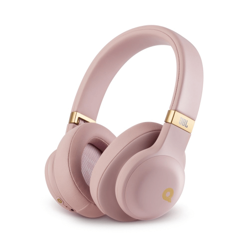 JBL E55BT Quincy Edition Wireless over-ear headphones with Quincy's signature sound.