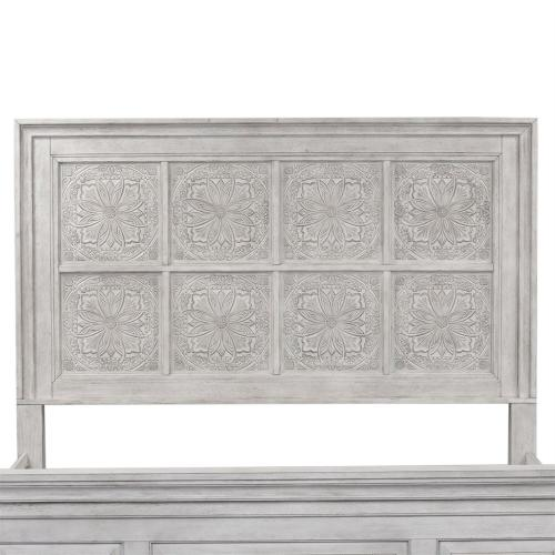 King Decorative Panel Headboard