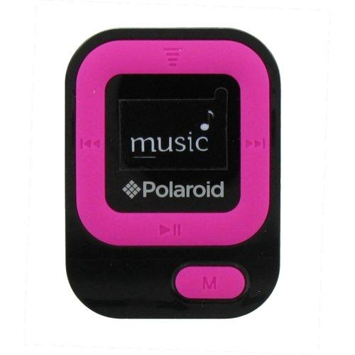 Polaroid 4GB MP3 Music Player with LCD Display, Pink - PMP85PK
