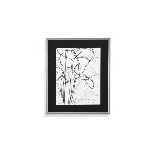 Bassett Mirror Company - Tropical Lines III