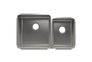 "Classic 003233 - undermount stainless steel Kitchen sink , 18"" × 18"" × 10""  12"" × 16"" × 8"" Product Image"