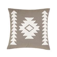 Trent Aztec Applique Pillow, 18x18