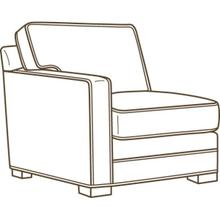 5285-14lf One Arm Chair