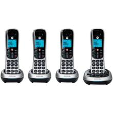 CD4 Series Digital Cordless Telephone with Answering Machine (4 Handsets)