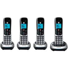 View Product - CD4 Series Digital Cordless Telephone with Answering Machine (4 Handsets)