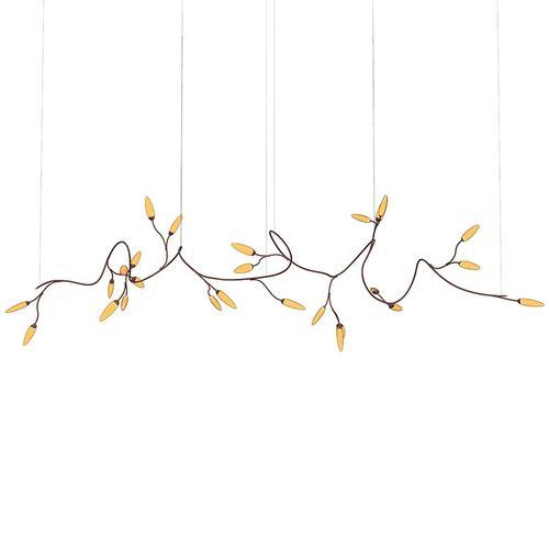 Sonneman - A Way of Light - Vines LED Pendant [Size=Large, Color/Finish=Coffee Bronze]