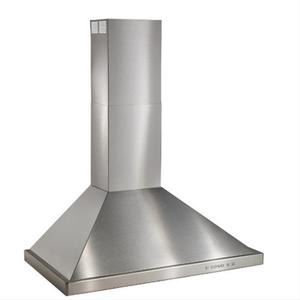 """Best30"""" Brushed Stainless Steel Wall Mount Chimney Hood with Internal 675 Max CFM Blower"""