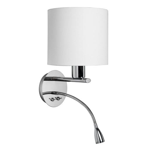 Wall Sconce With Reading Lamp