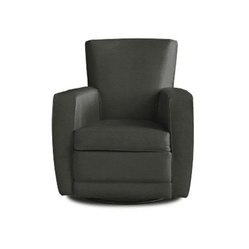 Fifth Avenue Charcoal - Leather