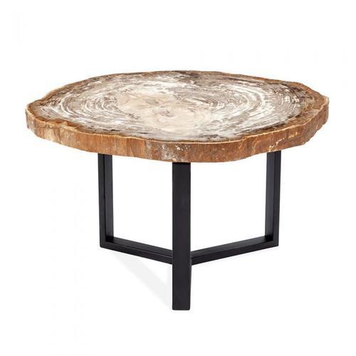 Isla Grand Petrified Wood Table