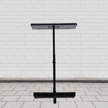 See Details - Adjustable Height Metal Lectern in Mahogany