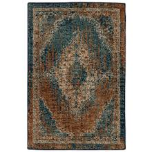 Spice Market Vasco Aquamarine Runner 2ft x 3ft