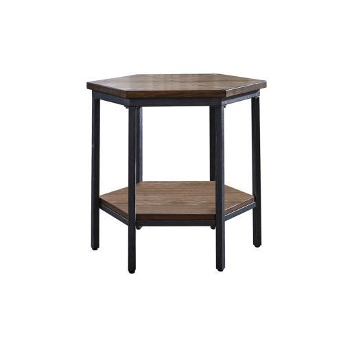 Ultimo Hexagon End Table