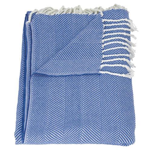 "Throw Sz008 Cyan/blue 50"" X 70"" Throw Blanket"