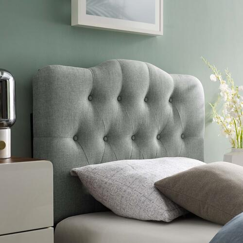 Modway - Annabel Twin Upholstered Fabric Headboard in Gray