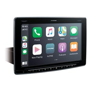 Alpine - Alpine Halo11 Multimedia Receiver with 11-inch Floating Touchscreen Display