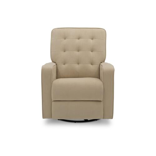Grant Glider Swivel Recliner Featuring LiveSmart Fabric by Culp - Sisal (727)