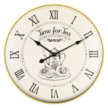 See Details - Time for Tea Wall Clock