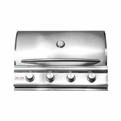 """Blaze Grills - Prelude LBM 32"""" 4-Burner Grill, With Fuel Type - Natural Gas"""