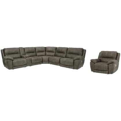 6-piece Sectional With Recliner
