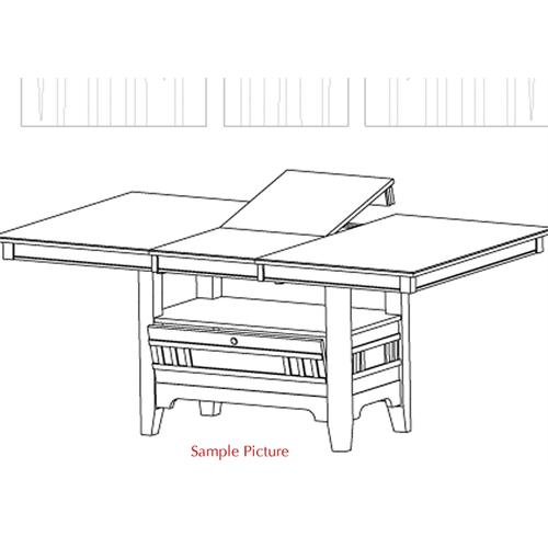 Liberty Furniture Industries - Center Island Table Base