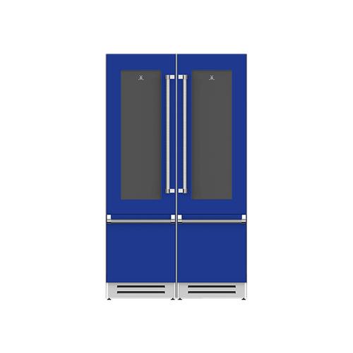"Hestan - 48"" Wine Refrigerator Ensemble Refrigeration Suite - Prince"