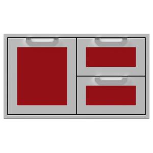 """36"""" Hestan Outdoor Combo Door/Drawer - AGSDR Series - Matador"""