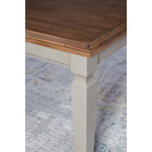 Extension Table in Hickory & Coal