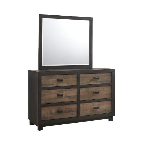 Harlington 6-Drawer Dresser w/ Mirror Set