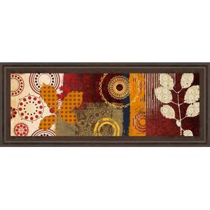 "Classy Art - ""Fall Leaf Panel I"" By Michael Marcon Framed Print Wall Art"