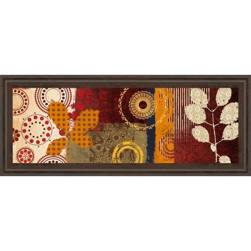 """Fall Leaf Panel I"" By Michael Marcon Framed Print Wall Art"