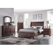 6 PC Bedroom - Queen Bed, Dresser, Mirror, Nightstand Product Image