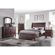 6 PC Bedroom - Queen Bed, Dresser, Mirror, Nightstand