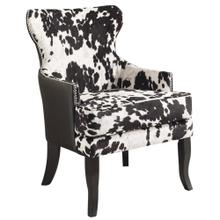Angus Accent Chair in Black