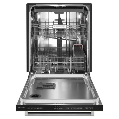 39 dBA Dishwasher in PrintShield™ Finish with Third Level Utensil Rack - Black Stainless Steel with PrintShield™ Finish