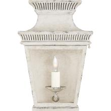 Visual Comfort CHD2945OW-CG E. F. Chapman Elsinore 1 Light 12 inch Old White Outdoor Wall Lantern, Small