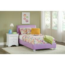 See Details - Youth PVC Bed : Wendy Youth Upholstered Bed