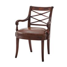 View Product - The Regency Visitor's Armchair