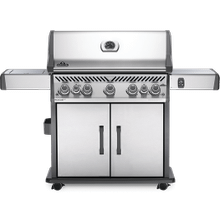 Rogue SE 625 RSIB with Infrared Side and Rear Burners , Stainless Steel , Natural Gas
