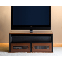 See Details - Synergy PM2 TV Mount for Twin-Width Cabinets, Black Posts