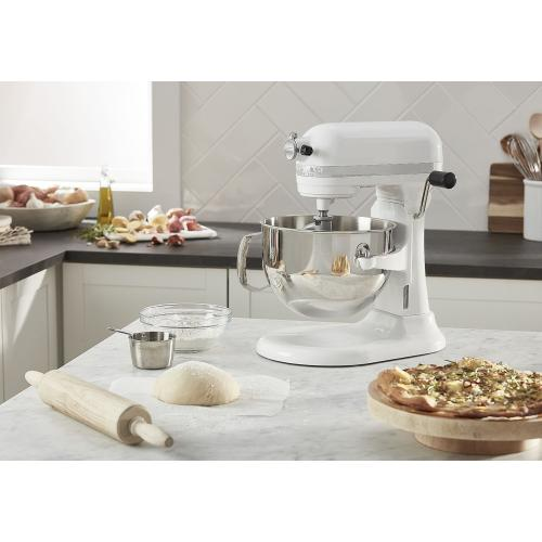 Pro 600™ Series 6 Quart Bowl-Lift Stand Mixer - White