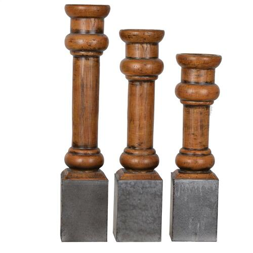 Heirloom Candleholder Set