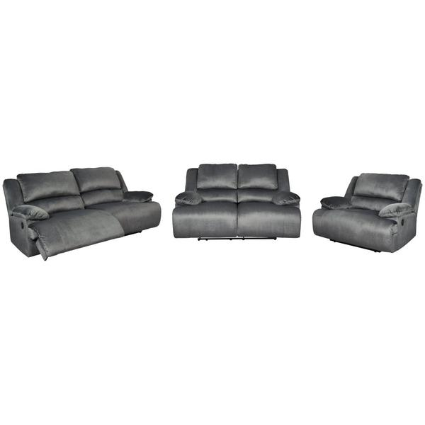 See Details - Sofa, Loveseat and Recliner