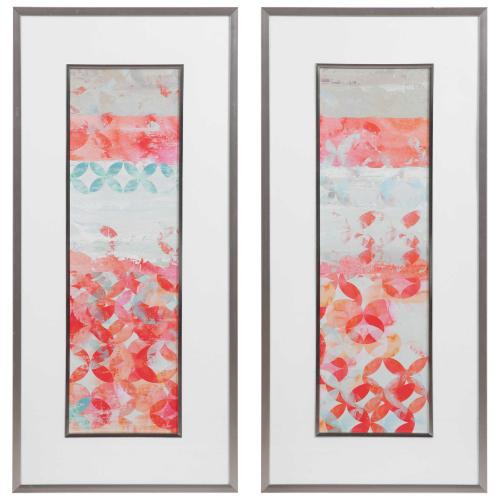 Valentine Framed Prints, S/2
