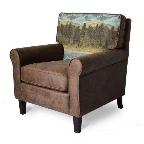 Buck Accent Chair - Chestnut
